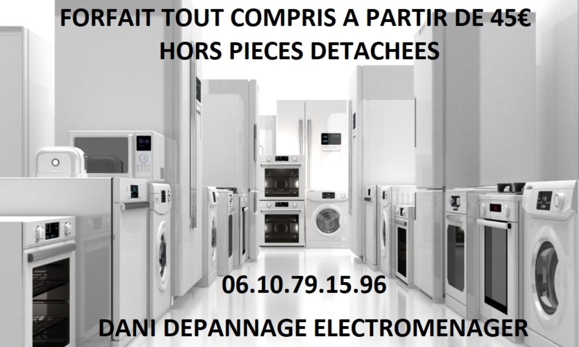 Dépannage Electroménager TV HI-FI Marignane  -  06 10 79 15 96